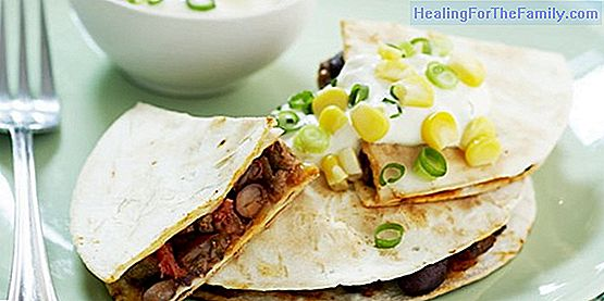 Recipes of salty tortillas and sweets for children