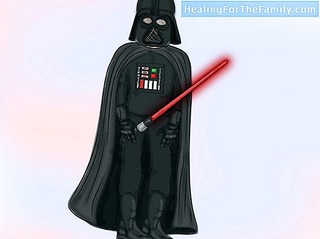 Comment faire un costume de Darth Vader enfant