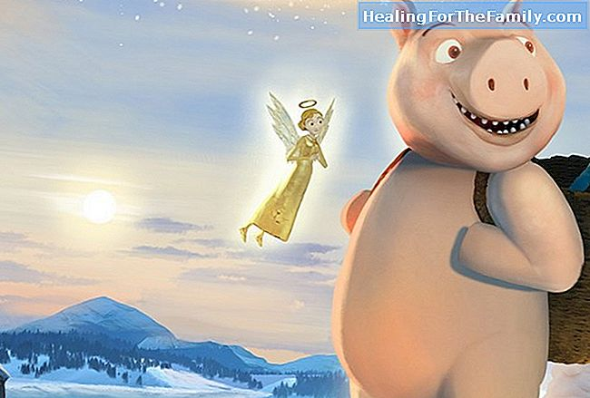 Kerstmis kinderfilm. Frozen, the ice kingdom