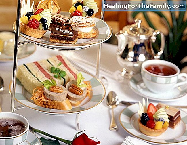 High tea for barn