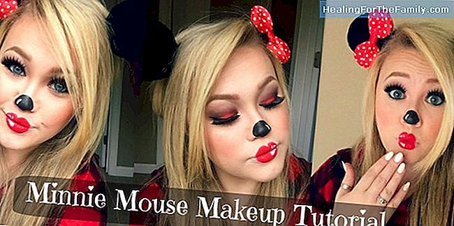 Makeup Minnie Mus for barneselskap