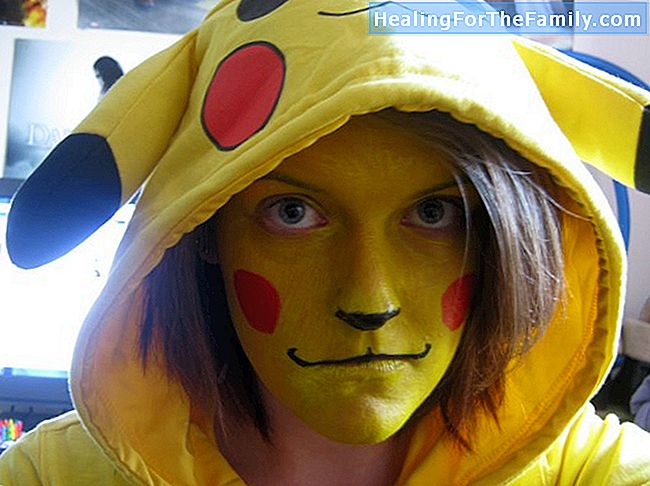 Pikachu makeup for barn