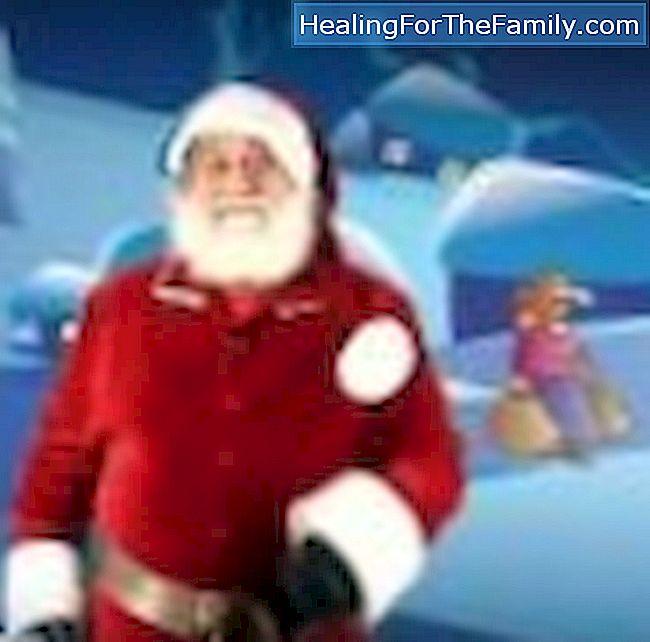 Weihnachtslieder für von Weihnachtsmann tanzten Kinder - Familie ...