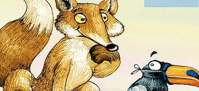 Fable De Phèdre Pour Les Enfants Le Corbeau Et Le Renard Famille