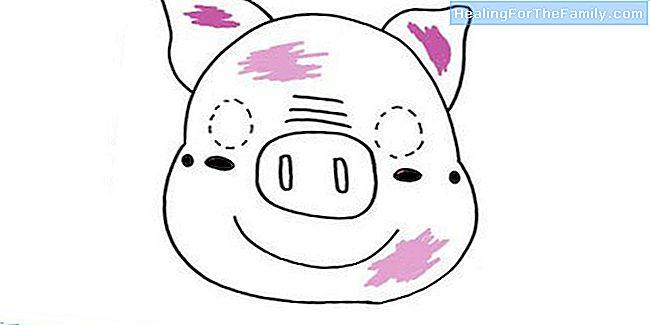 hoe dat te doen stap voor stap een varken masker