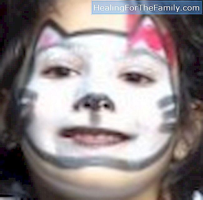 Maquillage pour chats Maquillage pour les fêtes d\u0027enfants, les  anniversaires, le carnaval, les costumes. Apprenez à faire facilement un  dessin sur le visage