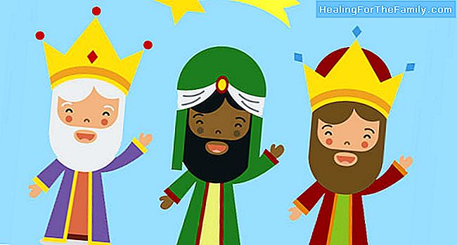 Three donkeys go to Bethlehem. Children's poem about the Magi