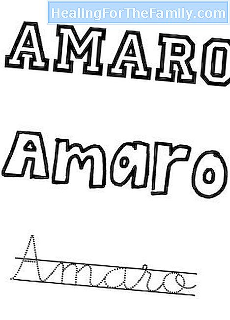 Day of the Saint Amaro, May 10. Names for children