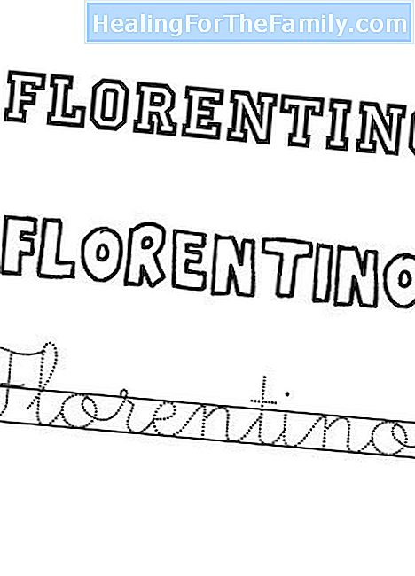 Day of the Florentine Saint, September 27. Names for children