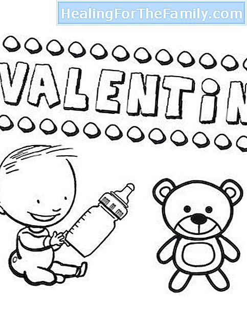 Saint Valentinsdag, 14. februar. Navne for barn